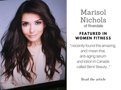 Riverdale Marisol Nichols from Riverdale and benir beauty