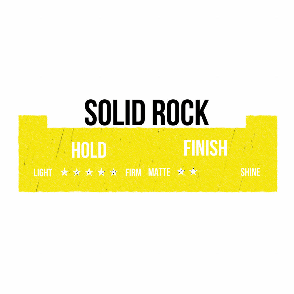 Solid Rock - Strong Hold Moulding Wax - 100ML