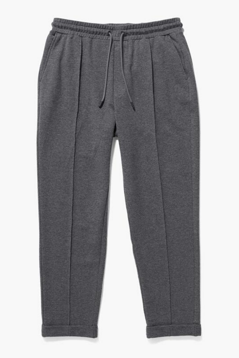 Terry Trouser | Charcoal Heather Grey | Richer Poorer