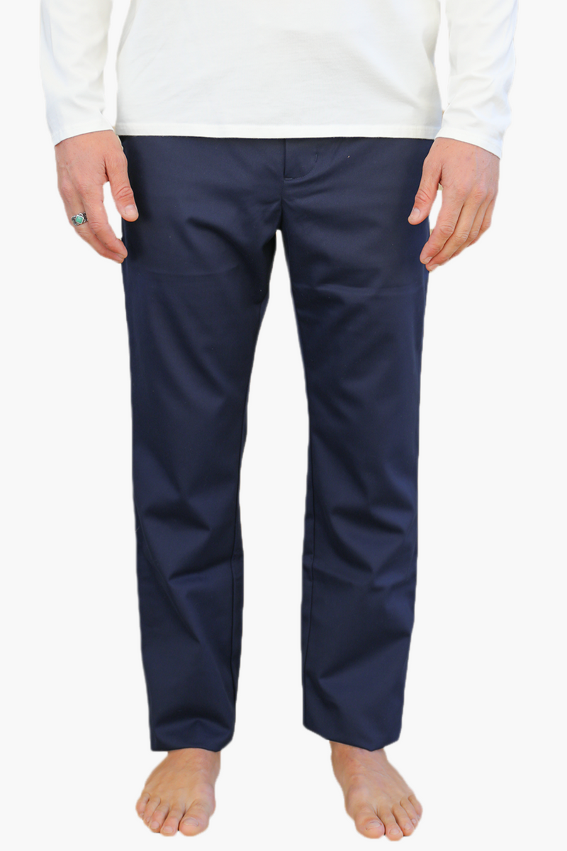 Relaxed Fit Chino | Navy | Monadic Clothing