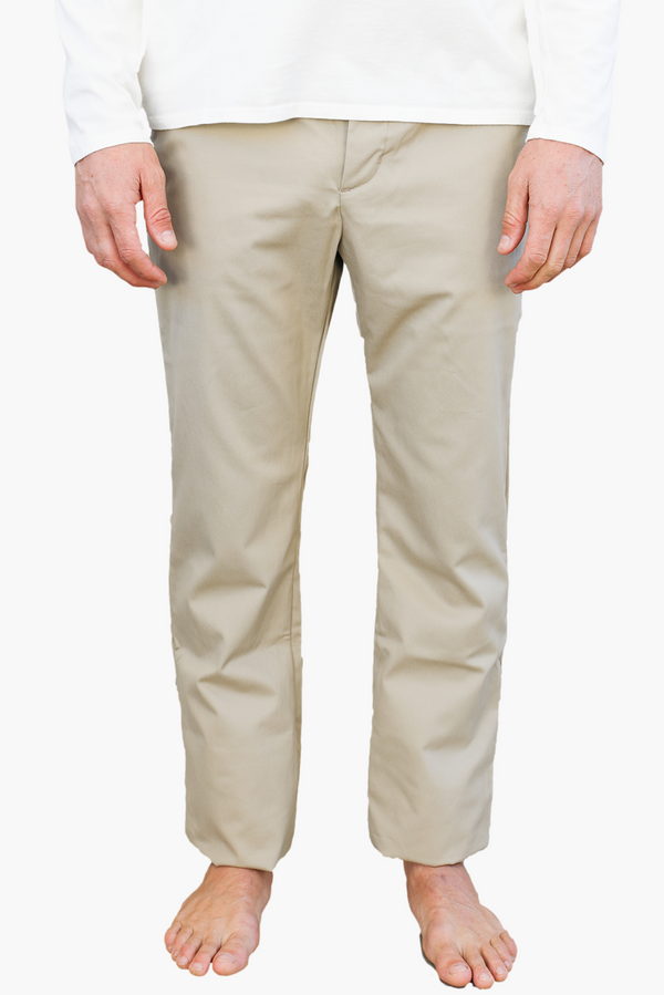 Relaxed Fit Chino | Khaki | Monadic Clothing