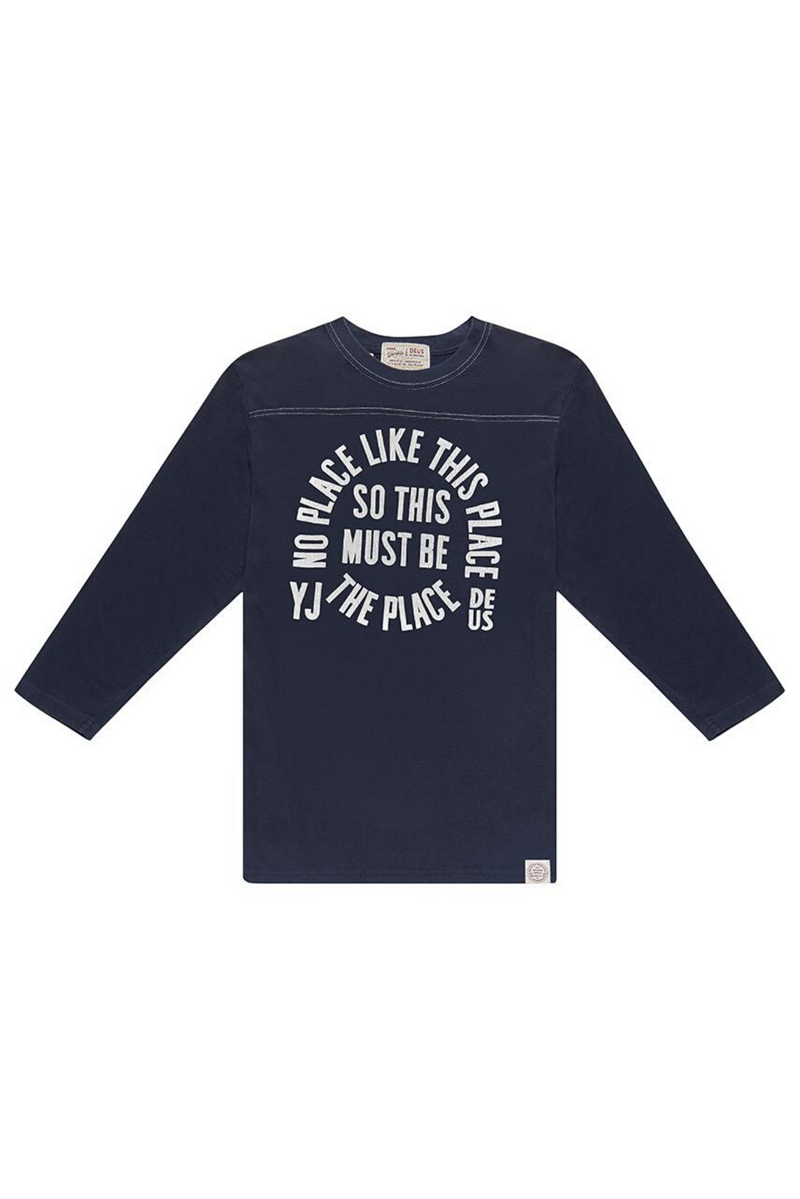 Place Perception Tee | Navy | Deus Ex Machina - Manready Mercantile