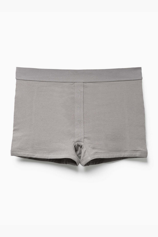 Women's Femme Boxer Brief | Charcoal | Richer Poorer - Manready Mercantile