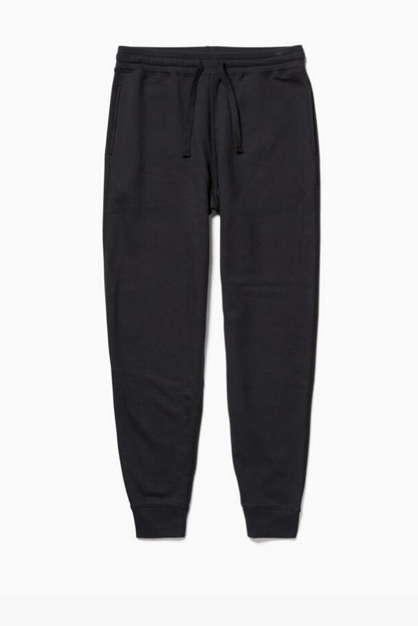 Men's Fleece Sweatpants | Black | Richer Poorer - Manready Mercantile