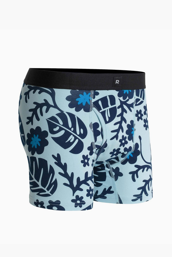 Devon Brief | Blue Multi | Richer Poorer - Manready Mercantile