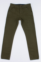 Workers Chino Slim Straight | Army | Freenote Cloth - Manready Mercantile