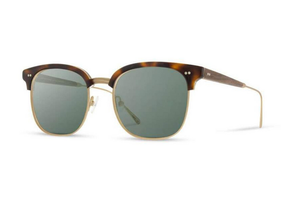 Foster Acetate Sunglasses | Brindle Walnut G15 | Shwood