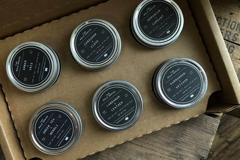Bold Series 6 Pack Travel Size Candle Set | Soy Wax Fragrance Oils - Manready Mercantile