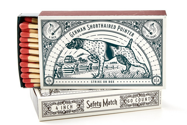 Hounds Matches 2-Pack | Mollyjogger - Manready Mercantile