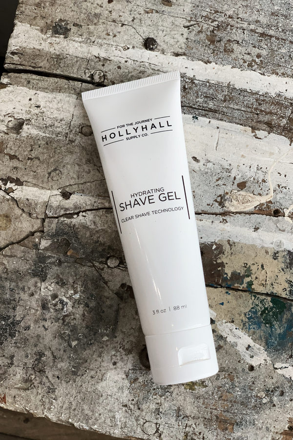 Hydrating Shave Gel | Holly Hall Supply Co. - Manready Mercantile