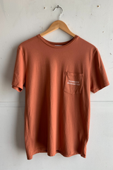 Graphic Pocket Tee | Anvil | Sunset | Manready Mercantile