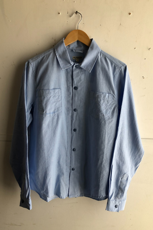 Comma Oxford Shirt | Light Indigo | Knickerbocker - Manready Mercantile