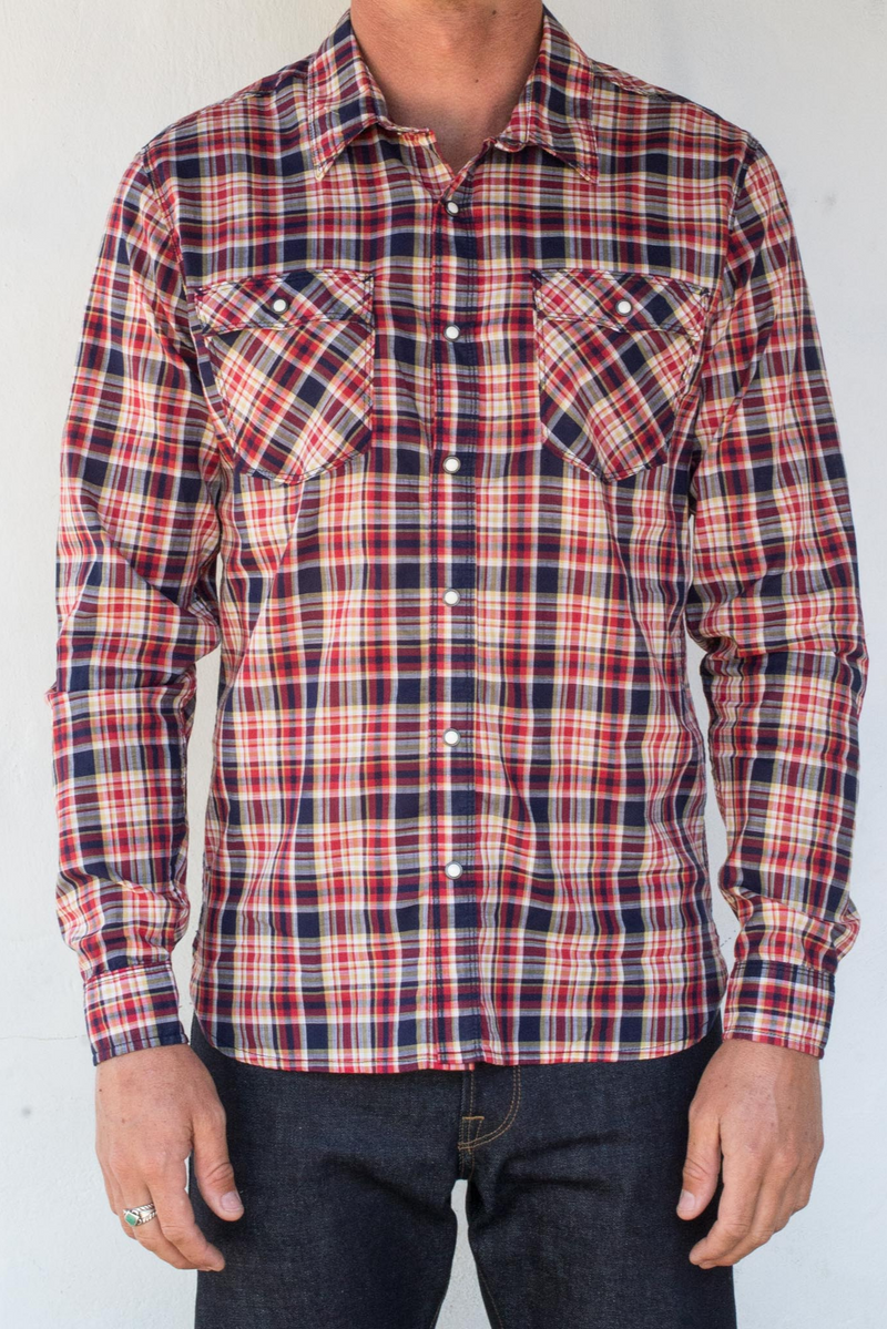 Lancaster Shirt | Vintage Plaid | Freenote Cloth