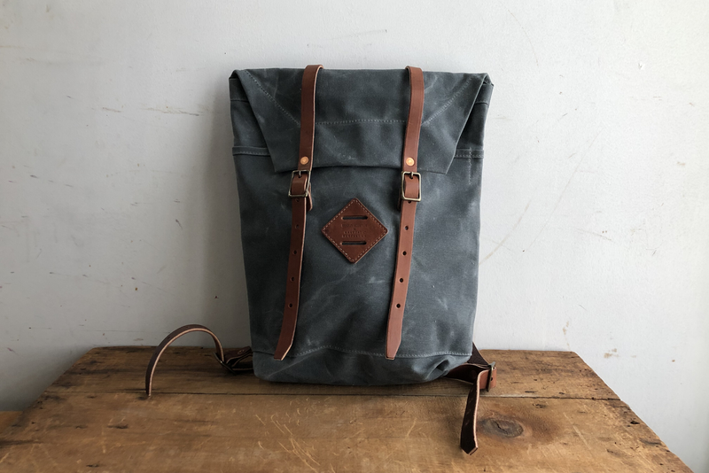 Scout Backpack | Charcoal | Bradley Mountain x Manready Mercantile