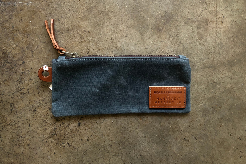 Pencil Pouch | Charcoal | Bradley Mountain