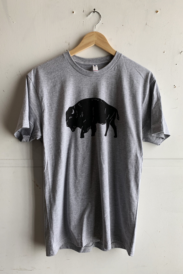 Graphic Tee | Bison | Grey | Royal Apparel x Manready Mercantile