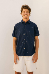 Summer Shirt | Wave Field | Mollusk