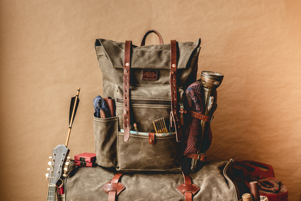 Wilder Backpack | Field Tan | Bradley Mountain - Manready Mercantile