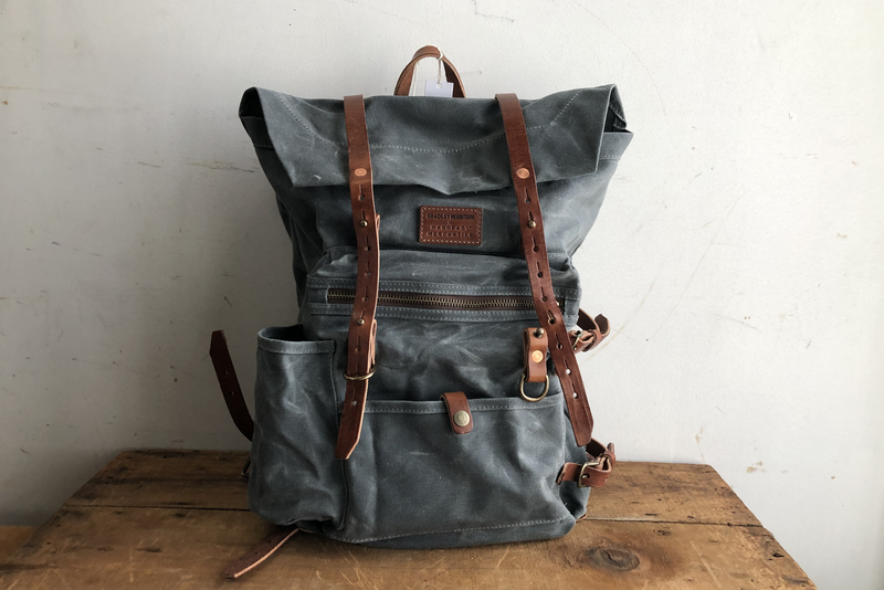 Wilder Backpack | Charcoal | Bradley Mountain x Manready Mercantile