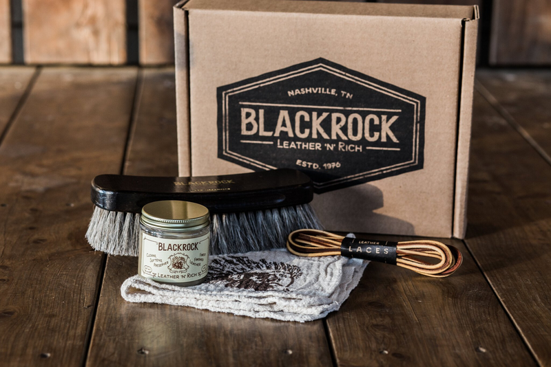 Complete Leather Care Box | Blackrock Leather - Manready Mercantile
