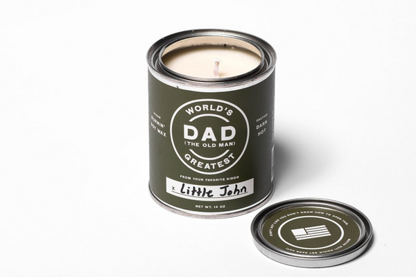 World's Greatest Dad Candle | Manready Mercantile