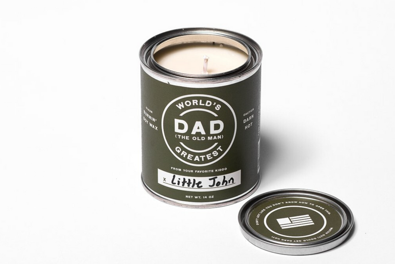 World's Greatest Dad Candle | Manready Mercantile - Manready Mercantile