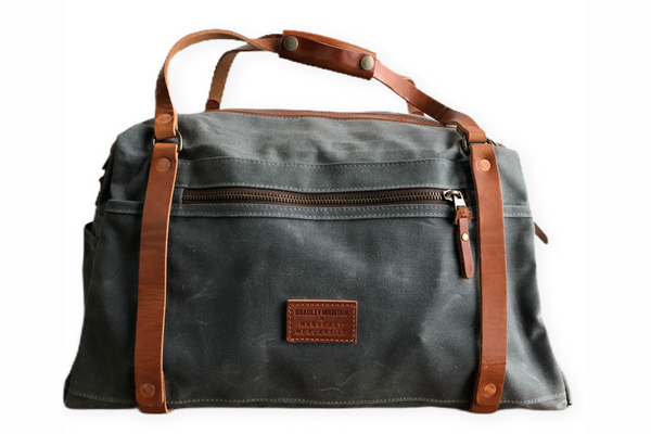 The Ranger Duffle by Bradley Mountain and Manready Mercantile in Charcoal