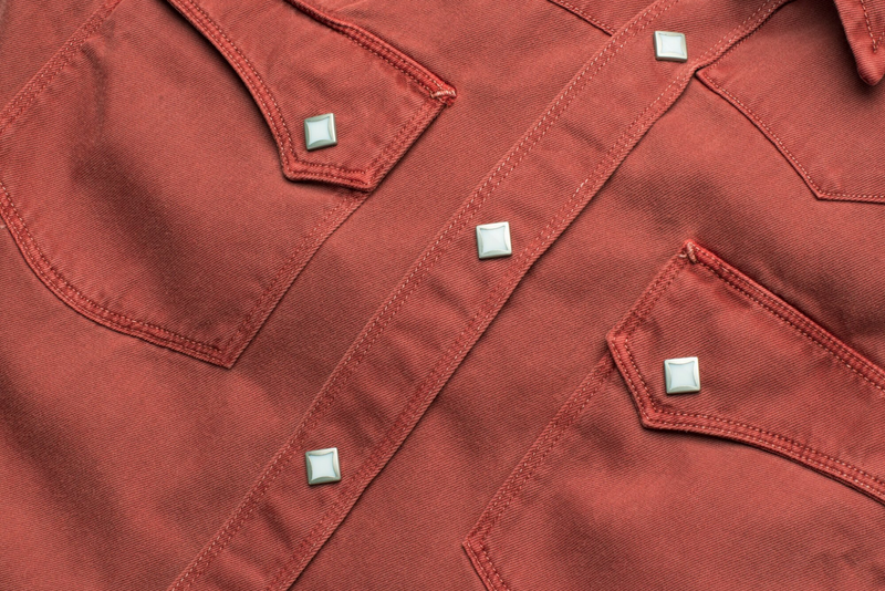 Calico Shirt | Rust | Freenote Cloth - Manready Mercantile