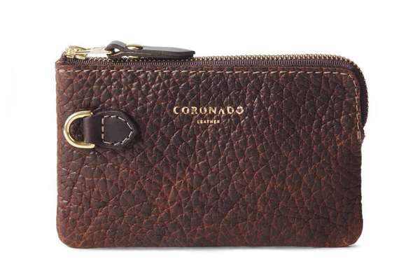Bison Small Pouch #605 | Coronado Leather