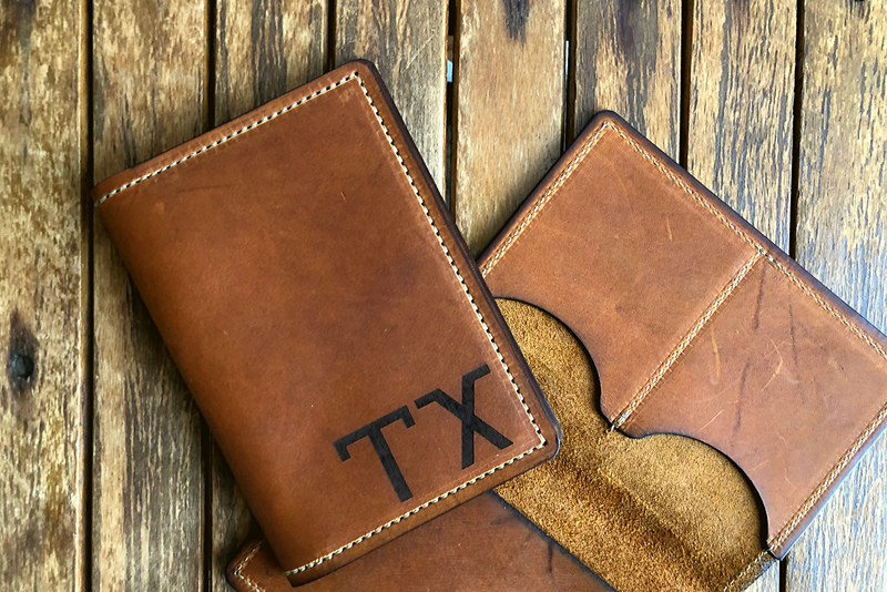 Map Passport Wallet | TX | Tactile Craftworks
