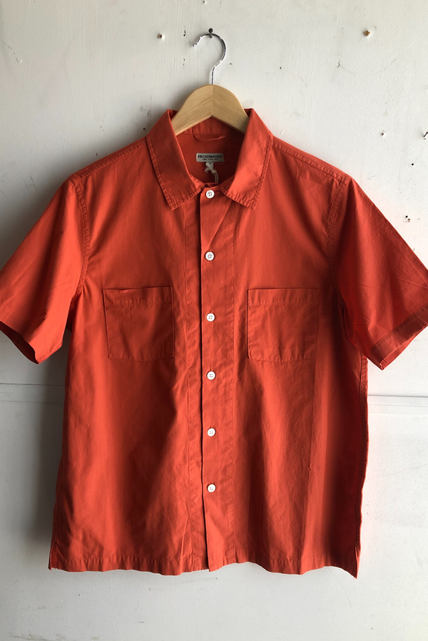 Comma Camp Shirt S/S | Chili | Knickerbocker - Manready Mercantile