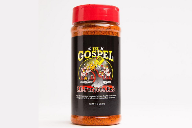 The Gospel All Purpose Rub | Meat Church - Manready Mercantile