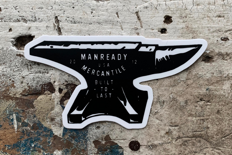 Sticker | Anvil Black | Manready Mercantile