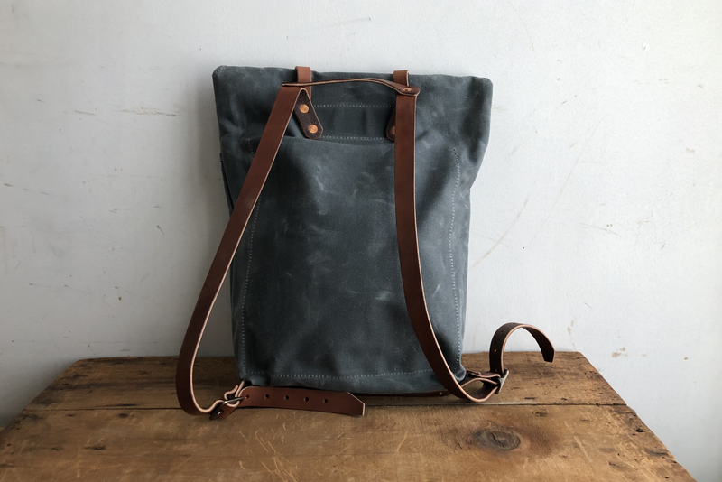 Scout Backpack | Charcoal | Bradley Mountain x Manready Mercantile - Manready Mercantile