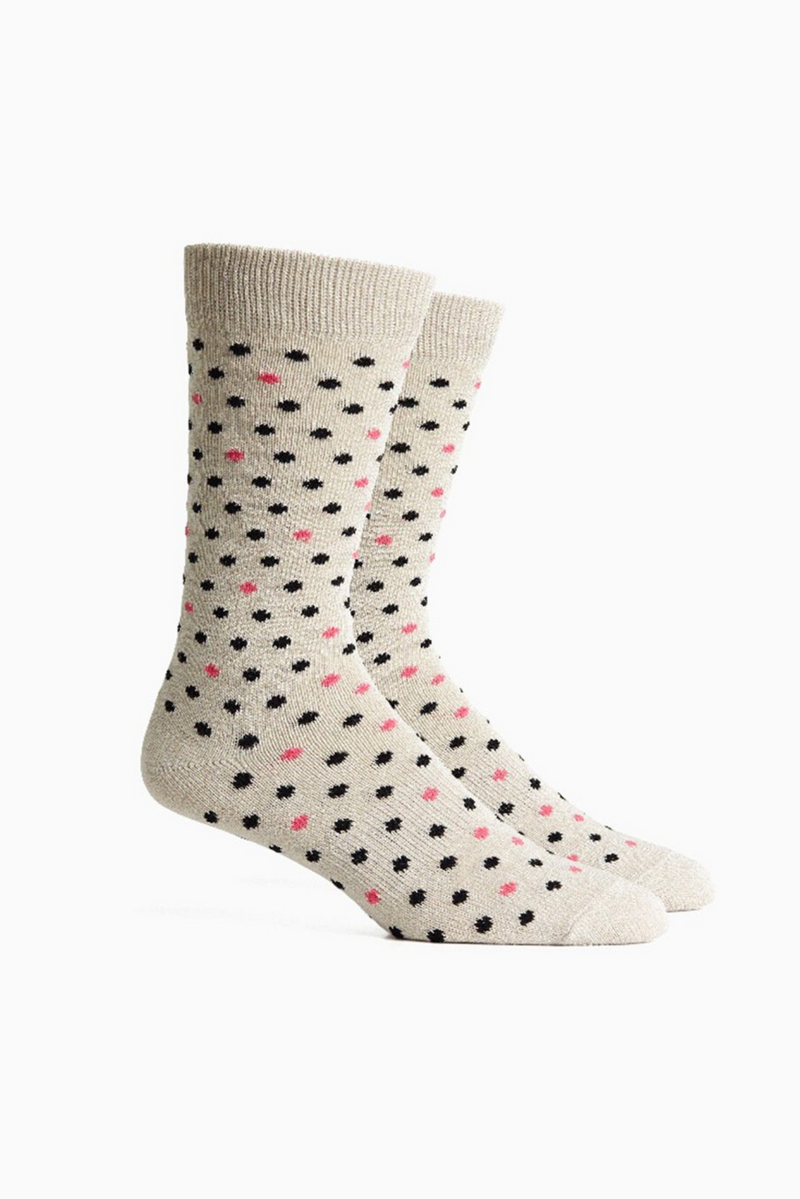Confetti Socks | White Black | Richer Poorer - Manready Mercantile