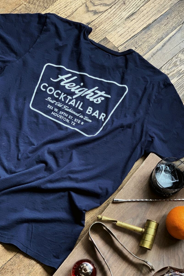 Graphic Pocket Tee | Heights Cocktail | Dark Blue | Manready Mercantile