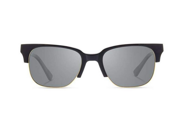 Newport Acetate Sunglasses | Black Mahogony G15 Polarized | Shwood - Manready Mercantile