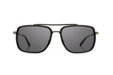 Grant Acetate Sunglasses | Matte Black Walnut Grey | Shwood