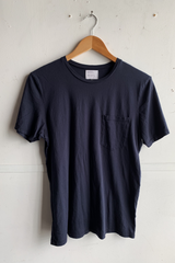 Basic Pocket Tee | Deep Blue | Manready Mercantile