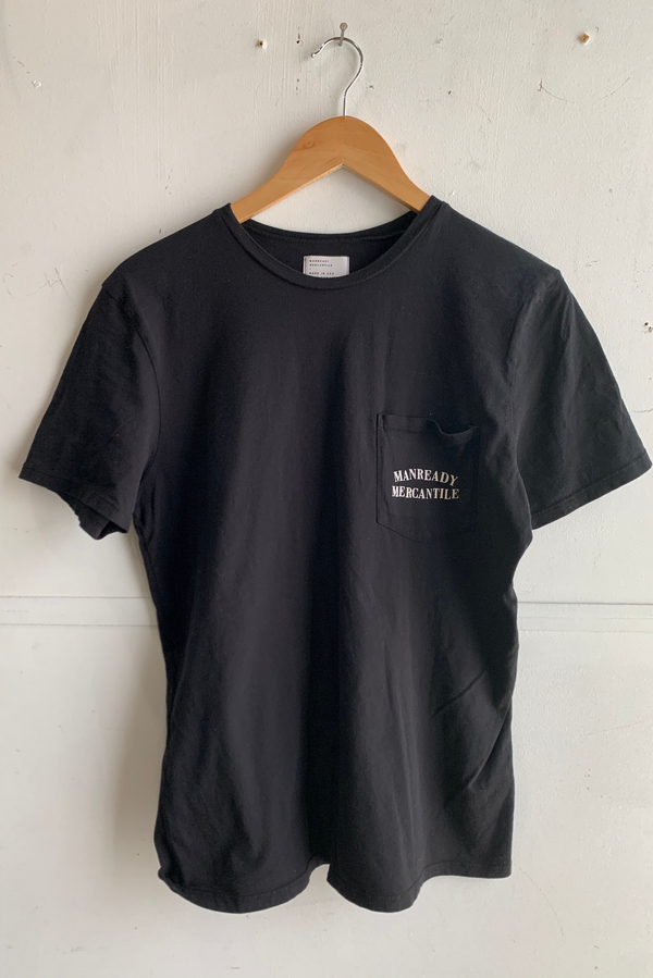 Graphic Pocket Tee | Still Kickin | Black | Manready Mercantile