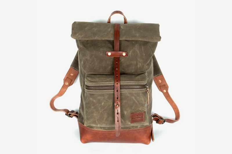 Biographer Backpack | Field Tan | Bradley Mountain - Manready Mercantile