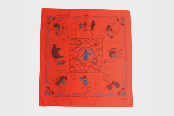 Two-Tone Bandana | Red | Kiriko