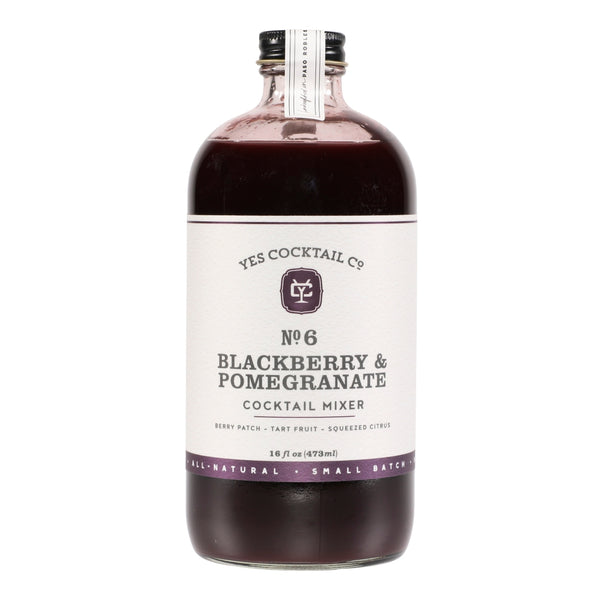 Blackberry Pomegranate Cocktail Mixer | Yes Cocktail Co.