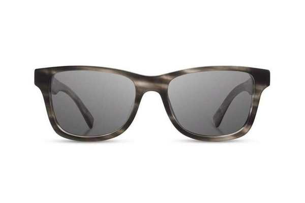 Canby Acetate Sunglasses | Matte Grey Elm Burl Grey | Shwood - Manready Mercantile