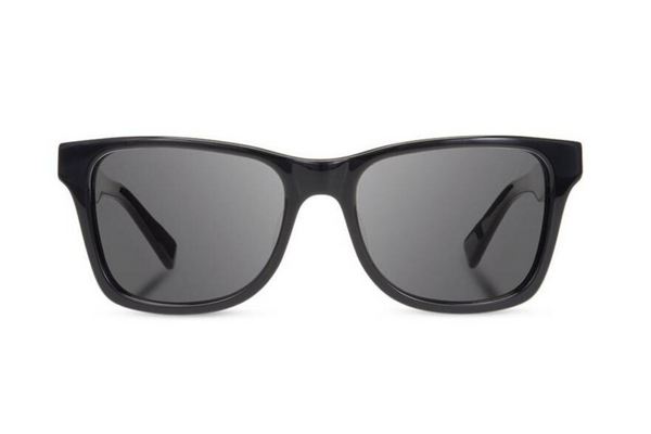 Canby XL Acetate Sunglasses | Black Ebony Grey Polarized | Shwood - Manready Mercantile