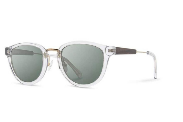 Ainsworth Acetate Sunglasses | Crystal Ebony G15 | Shwood - Manready Mercantile
