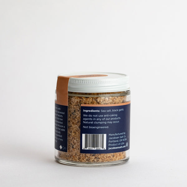 Black Garlic Salt | Jacobsen Salt Co.