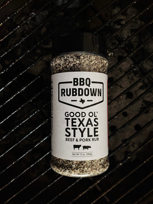 Good Ol' Texas Style Beef & Pork Rub | BBQ Rubdown