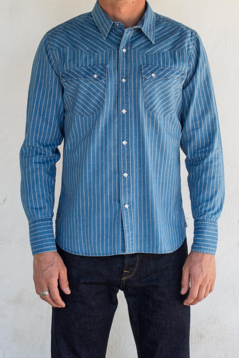 Calico Shirt | Bleached Wabash | Freenote Cloth - Manready Mercantile