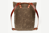 Scout Backpack | Field Tan | Bradley Mountain - Manready Mercantile